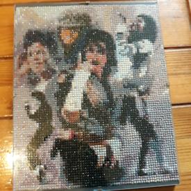 Michael Jackson, King of Pop diamond art Painting