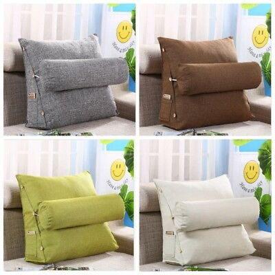 Einstellbar Lesekissen Rückenkissen Keilkissen Kissen Rückenstütze für Sofa