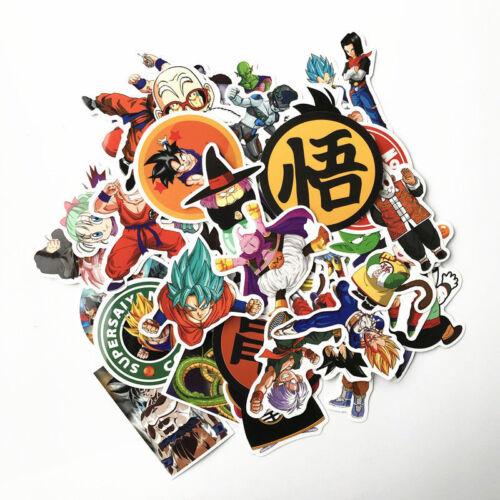 Super Saiyan Goku Stickers Decal 36//50//136 Pcs//Lot Anime Dragon Ball Z (DBZ