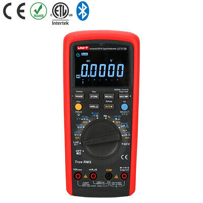 Uni-t Ut171b Industrial True Rms Digital Multimeter Test Ebtn Lcd Li-battery Usb