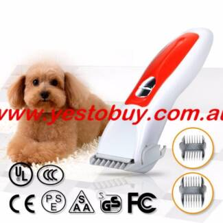 Electric Dog Clipper Comb Set Animal Hair Ceramic Blade Cat Pet Oakleigh Monash Area Preview