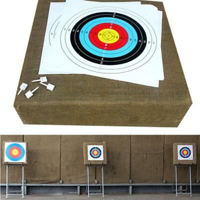 Outdoor Target - 10pcs Outdoor Archery Target Paper Face for Arrow Bow Shooting Hunting L