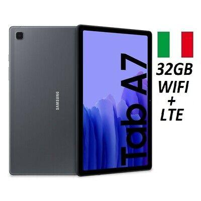 """SAMSUNG GALAXY TAB A7 2020 SM- T505 10.4"""" 32GB WIFI/4G DARK GREY GARANZIA ITALIA"""