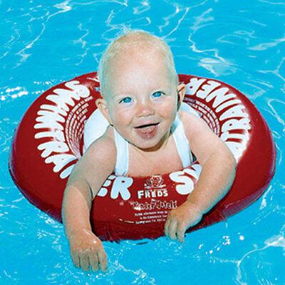 Schwimmtrainer Schwimmring Schwimmhilfe Freds Rot Babyschwimmring Babyschwimmen