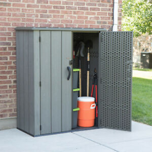 "Lifetime 5ft6""x4ft 5""(1.7x1.4m)Vertical 1812 Litre Storage Shed"