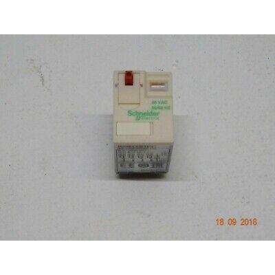 Schneider RXM4AB1E7 Relay Miniature 4 Nc / NO-48VAC-6A - 1 Piece (CC2/D)