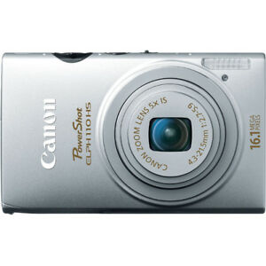 Caméra Canon PowerShot ELPH 110 HS 16.1 MP + Accessoires!