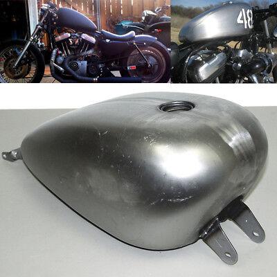 3.3 Gallon EFI Gas Fuel Tank Smooth Custom Stock Harley Sportster XL (Sportster Fuel Tank)