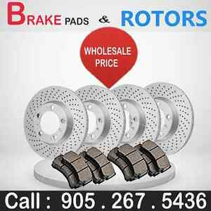 Brand New Brake Pads & Rotors - WholeSale Price
