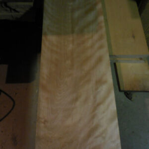 Old growth Yellow Birch and Maple Lumber