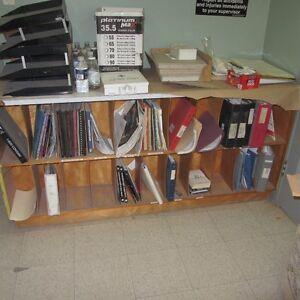 Bookshelf - Double sided