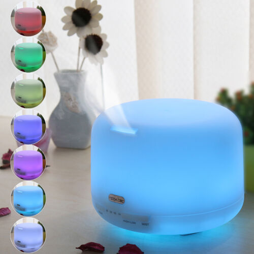 7 Color Changing Ultrasonic Home Aroma Humidifier Air Diffus