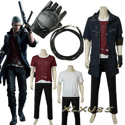 Hot Cakes Game COS Devil May Cry 5 Cosplay Costume Nero Suit Halloween - Cake Halloween Games