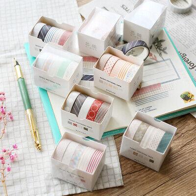 5Pcs/pack Cute Washi Tape Petal Flower Paper Masking Tape Washi Tape DIY Sticker - Diy Tape