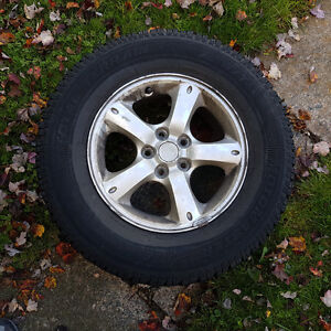 4 235/70R16 M&S tire and Rims