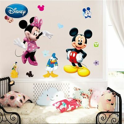 DIY Sticker Children's Room Decoration Minnie Removable (Mickey-mouse-diy)