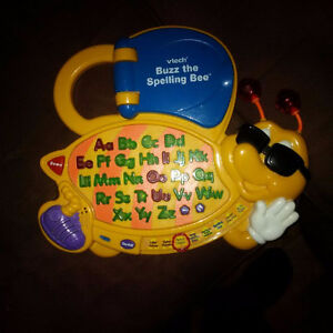 VTECH BUZZ THE SPELLING BEE ELECTRONIC LEARNING EDUCATIONAL SYST