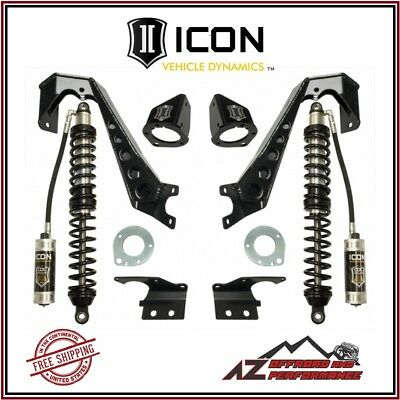 "ICON 1.75-4"" Front Stage 2 Coilover Conversion System 2007-2018 Jeep Wrangler JK"