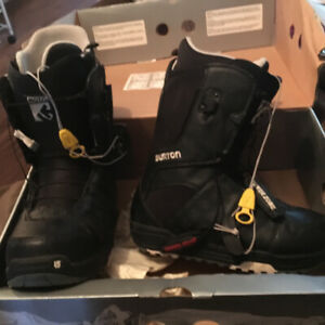 Brand new Burton snow board boots