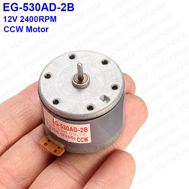 Mabuchi EG-530AD-2F Audio Motor for Tape Deck DC 12V CW Capstan Motor Audiomotor