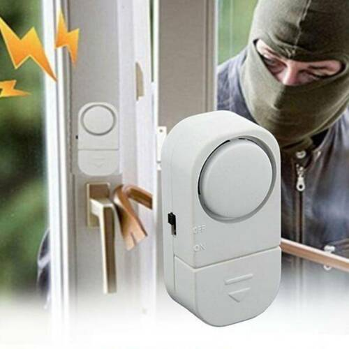 Details About Magnetic Sensor Alarm Door Window Anti Theft System For Home Security Tool
