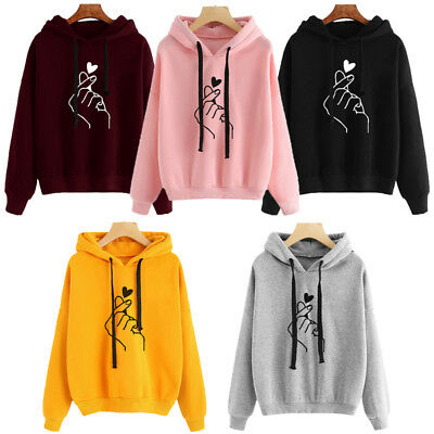 US Mr. And Ms. Finger Heart Hoodie Sweatshirt Couples Lover Matching Sweater Top](Mr Lover Lover)