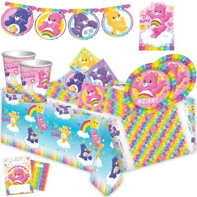Care Bear Party Supplies (Care Bears Party Supplies Tableware, Decorations, Banners, Balloons, Invites)