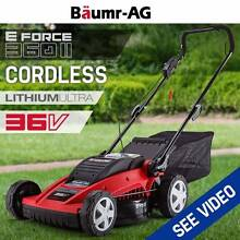 NEW Cordless 36V Lawn Mower E-Force 360II LithiumULTRA Success Cockburn Area Preview