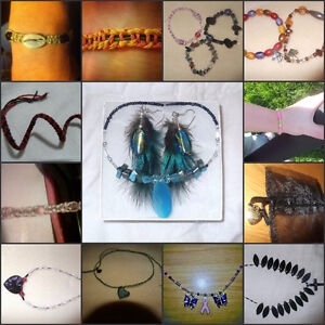 Custom jewelry, photography, and accessories by me!