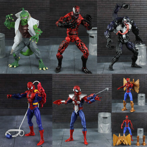 "Marvel Univers Spider-Man Unique Venom Action Figure 6/"" Collectible Toy"