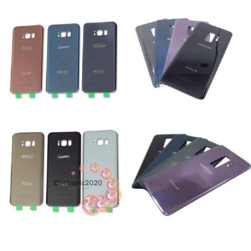 OEM Battery Back Door Glass Cover Replacement For Samsung S8