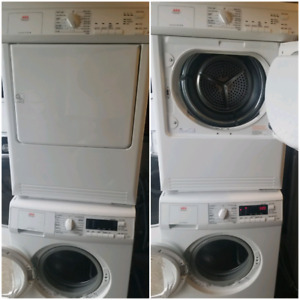 """Electrolux (AEG) 24"""" apartment size washer and dryer"""