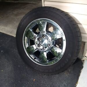 Tires and Rims - Goodyear Eagle LS2 - Factory Takeoffs - GMC