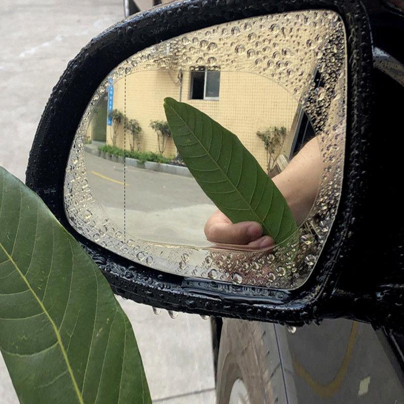 Auto & Motorrad: Teile 2pcs Auto Anti Wassernebel Film Anti Fog Waterproof Rückspiegel Schutzfolien Möbel & Wohnen