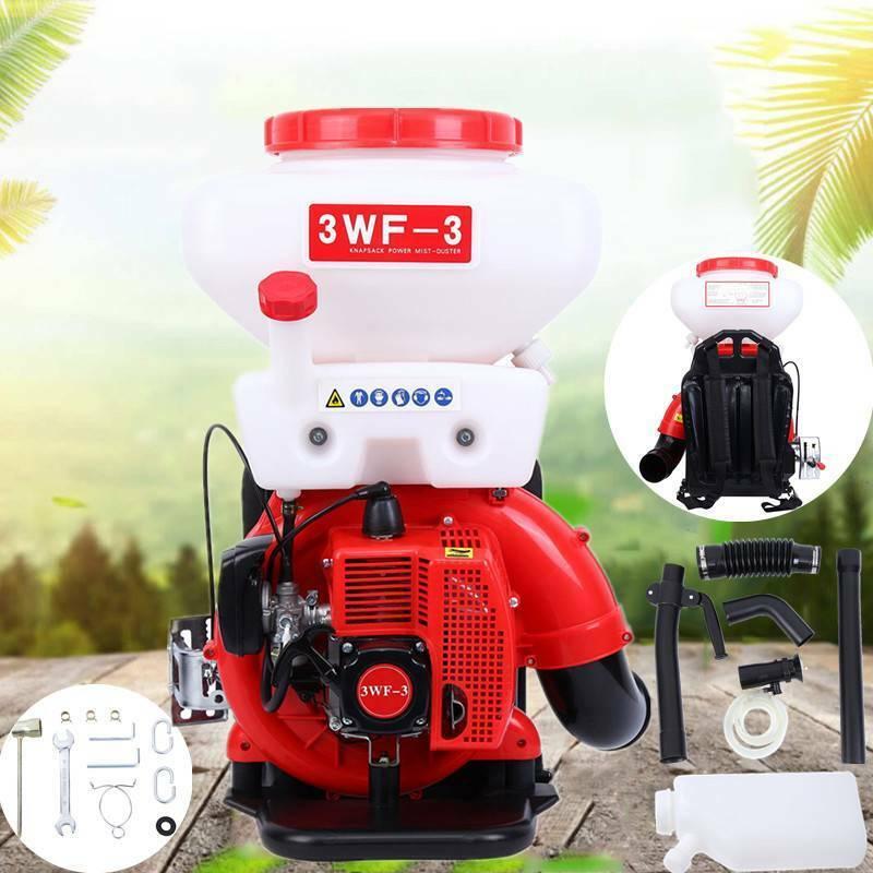 3.5Gal Backpack Agricultural Mist Duster Sprayer Gasoline Po