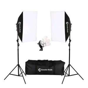 CanadianStudio 1600 W Video Photo Studio lighting Softbox