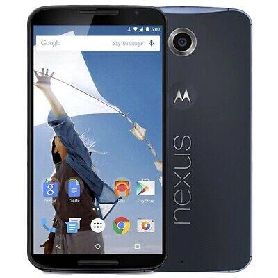 "Motorola Nexus XT (Nexus 6) - 2GB -4G - Blue - 6.0"" - Unlocked -32GB  - Warranty"