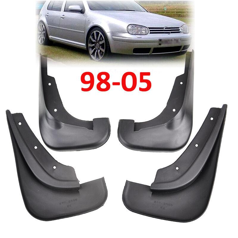 FIT FOR 98~05 VW GOLF MK4 JETTA A4 BORA MUD FLAPS SPLASH GUARDS MUDGUARD MUDFLAP
