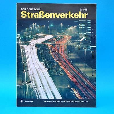 Der Deutsche Straßenverkehr 2/1983 Brandenburg Sowjetunion Lipno Kuckuckstein G