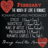 FEBRUARY - The Month of Love & Romance ( Romantic Couples Shoot)