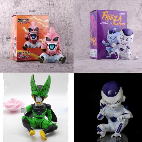 New Dragon Ball Action Figure Majin Buu Frieza Majin Boo Freeza Figure PVC Toys