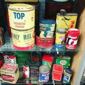 Nostalgia tins just in at One Of A Kind Antique Mall