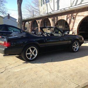 1990 Triple Black 5.0  LX Mustang Convertible