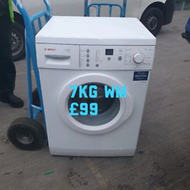 Bosch 7kg washing machine free delivery in Leicester 04