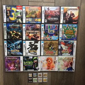 Nintendo DS 3DS games - RPG / Action / Adventure