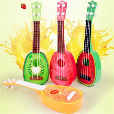Used, Cute Fruit Musical Guitar ukulele Instrument Toy Children Kids Educational Gift for sale  Shipping to Canada