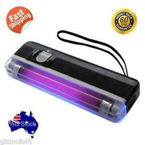 Handheld UV Black Light Ultraviolet Lamp with Torch Portable fishing hiking