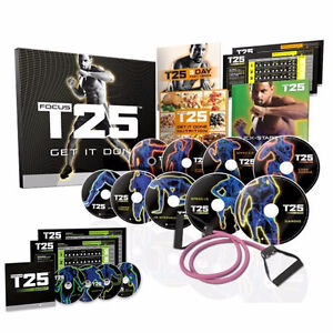 FOCUST25 WORKOUT OF BEACHBODY14 DVD NEW AUTHENTIC