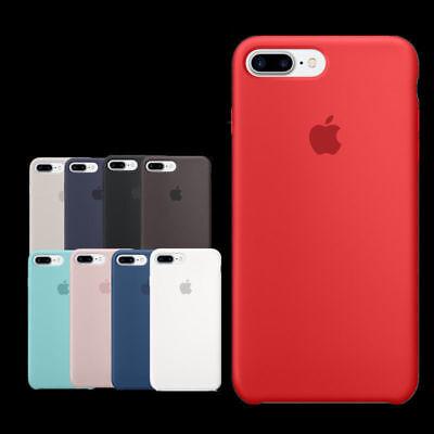 Authentique Officiel silicone souple case cover Pour iphone 8 7 6 6s plus Boxed