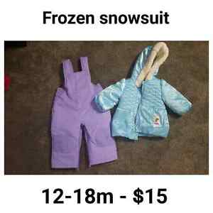 Snowsuits and spring jacket